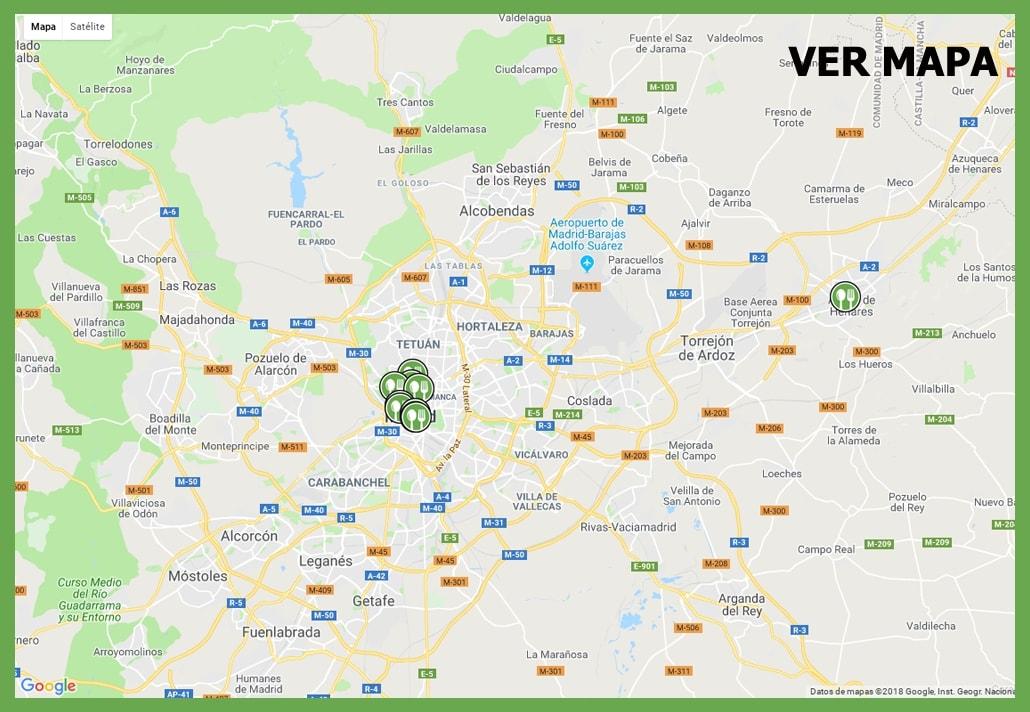 Restaurantes colaboradoress Madrid Vegano
